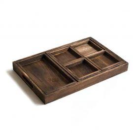 Vintage Wood Tray 复古木托盘 7件套